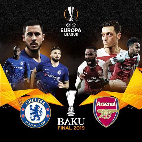 Lịch thi đấu chung kết Cúp C2 20182019 - LTĐ Chelsea vs Arsenal hình ảnh