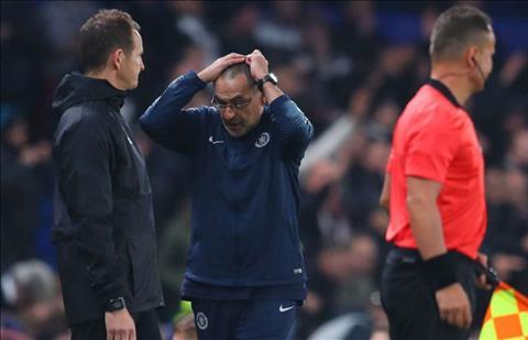 Maurizio Sarri giải thích việc không xem Chelsea đá 11m hình ảnh