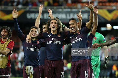 Valencia vs Arsenal video ảnh gif bàn thắng Europa Leauge 105 hình ảnh