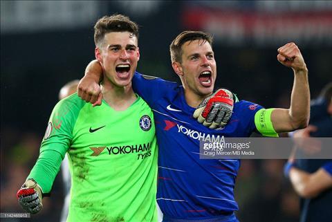 Chelsea vs Frankfurt video ảnh gif bàn thắng Europa Leauge 105 hình ảnh