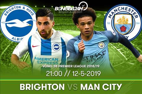 Truc tiep Brighton vs Man City