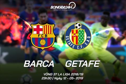 Truc tiep Barca vs Getafe