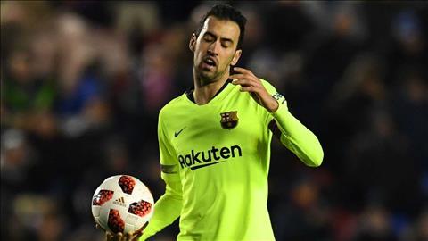 Đã đến lúc Barca nên để Sergio Busquets nghỉ ngơi hình ảnh
