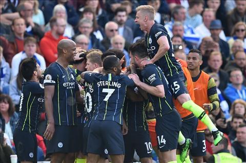 Man City vô địch Ngoại hạng Anh 201819 Đội bóng vĩ đại nhất hình ảnh
