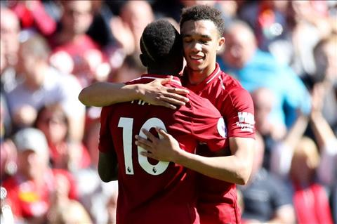 Mane va Arnold cua Liverpool