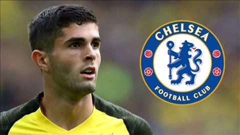 Christian Pulisic háo hức được ra mắt Chelsea hình ảnh