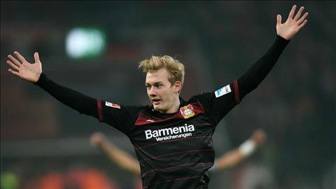 Rời Bayer Leverkusen, Julian Brandt sắp tới Liverpool hình ảnh