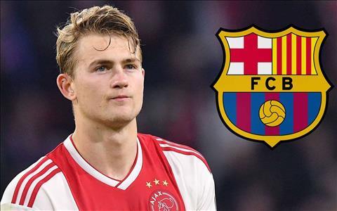 Trung vệ De Ligt lên tiếng về tương lai Barca méo mặt hình ảnh
