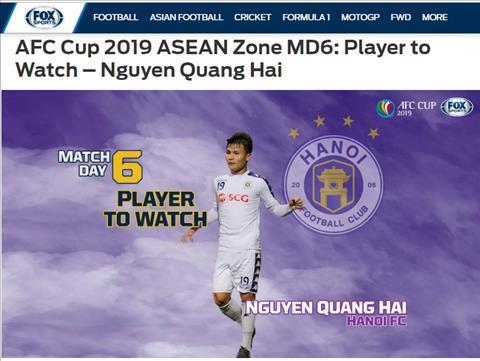 Quang Hải là người đáng xem nhất lượt cuối vòng bảng AFC Cup hình ảnh