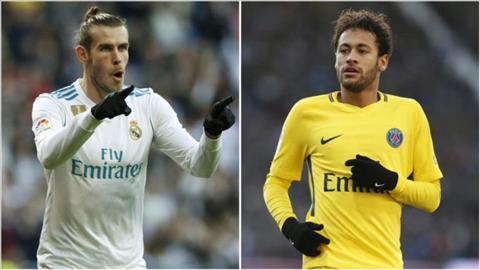 Real Madrid muốn đổi Bale lấy Neymar ở Hè 2019 hình ảnh