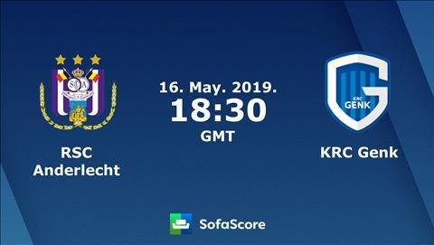Anderlecht vs Genk 1h30 ngày 175 (VĐQG Bỉ 201819) hình ảnh