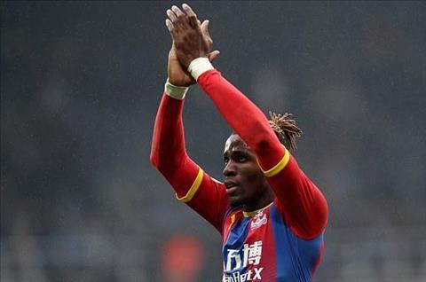 Wilfried Zaha công khai ý định muốn rời Crystal Palace hình ảnh