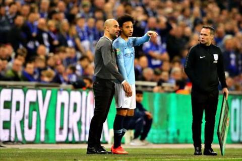 Pep Guardiola thuyết phục Leroy Sane ở lại Manchester City  hình ảnh
