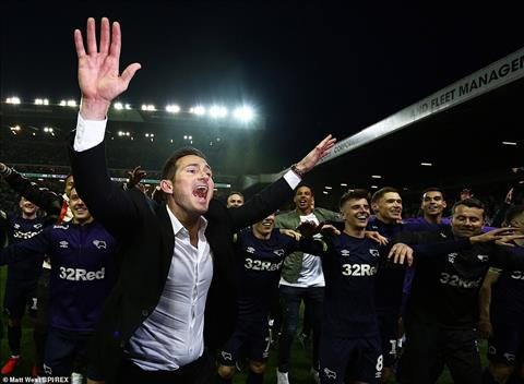 Derby County cua Frank Lampard