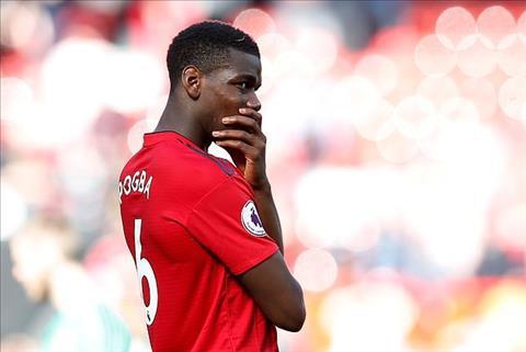 Tiền vệ Pogba của MU kêu ca bị phân biệt đối xử ở Old Trafford hình ảnh