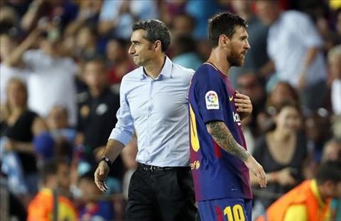 Valverde va Messi