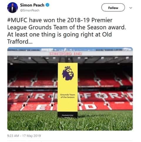 Bất ngờ MU nhận giải thưởng hài hước từ BTC Premier League hình ảnh