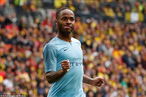 Man City 6-0 Watford Man xanh ăn 3 lịch sử sau màn tennis tại Wembley hình ảnh 2