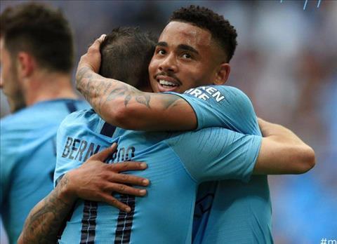 Man City 6-0 Watford Man xanh ăn 3 lịch sử sau màn tennis tại Wembley hình ảnh 3