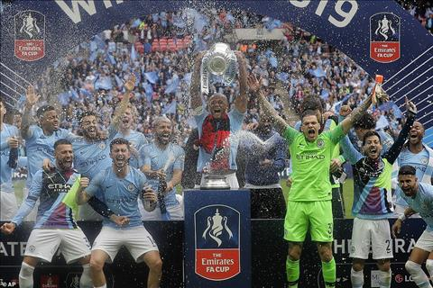 Man City vô địch FA Cup Đội bóng xuất sắc nhất thế giới hình ảnh