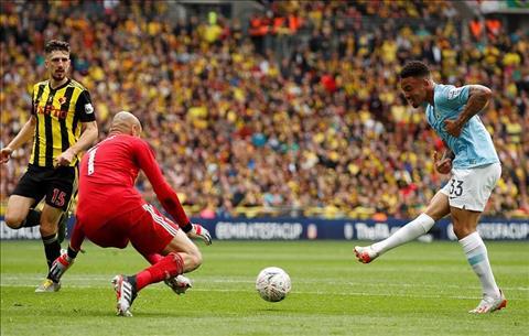 Man City vùi dập Watford ở chung kết FA Cup Nhà vua khẳng định sự thống trị hình ảnh 3