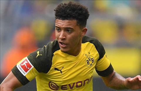 Jadon Sancho cua Dortmund