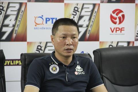 HLV Chu Đình Nghiêm tiếc nuối khi không thể đánh bại HAGL hình ảnh