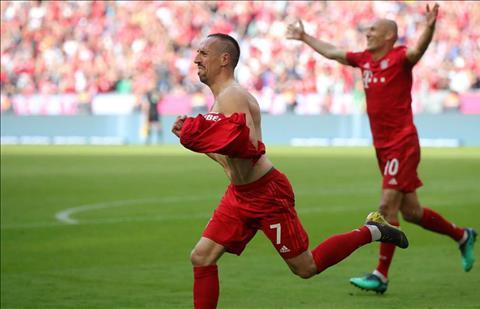'Ribery va Robben da dinh hinh Bayern va Bundesliga'