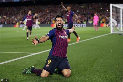 Luis Suarez mo man cho tran dai thang cua Barca bang pha lap cong tinh quai so truong