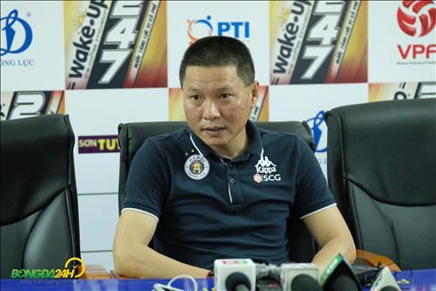 HLV Chu Đình Nghiêm nói gì trước trận đấu gặp Sài Gòn FC hình ảnh