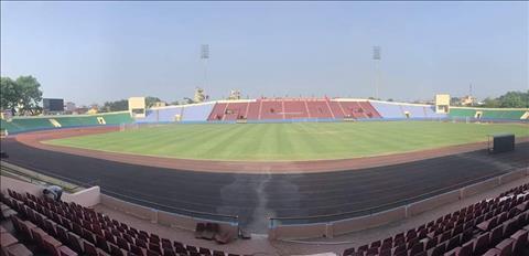 Sân Việt Trì được sửa sang cho trận đấu của U23 Việt Nam, VFF cản hình ảnh