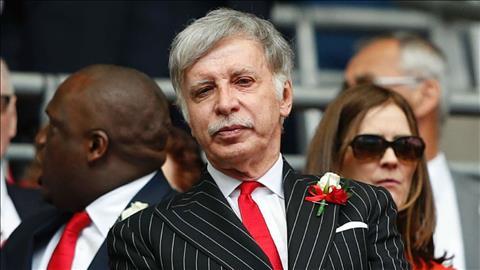Giám đốc Arsenal bảo vệ ông chủ Stan Kroenke hình ảnh