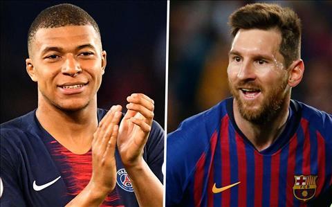 Mbappe noi ve Messi