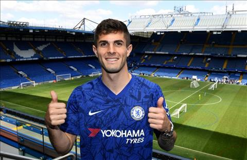 Tân binh Pulisic của Chelsea lấy lòng HLV Lampard  hình ảnh