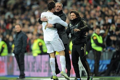 Mourinho va Ronaldo tai hop