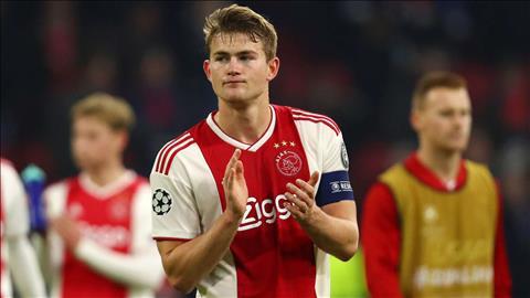 MU muốn ký hợp đồng với trung vệ De Ligt ở Hè 2019 hình ảnh