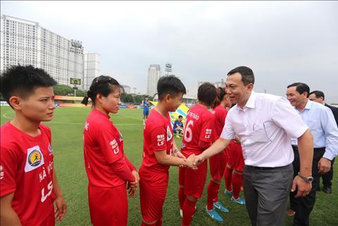 Nữ Hà Nội thắng nữ Sơn La với tỉ số hủy diệt tại Cúp Quốc gia hình ảnh