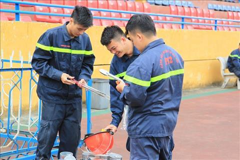 Phuong tien de gap phao sang cung duoc chuan bi.