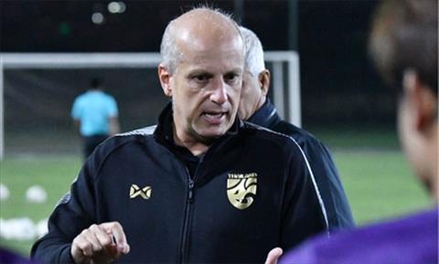 HLV Gama lên tiếng trước tin đồn từ chức ở U23 Thái Lan hình ảnh