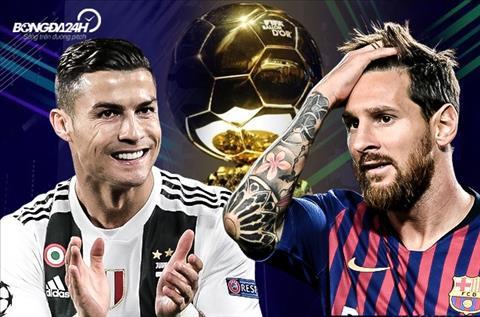 Ronaldo vs Messi Qua bong vang
