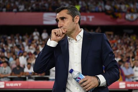 Barca không sa thải HLV Ernesto Valverde ở Hè 2019 hình ảnh