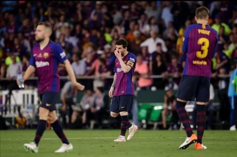 Gerard Pique phát biểu sau trận Barca 1-2 Valencia hình ảnh