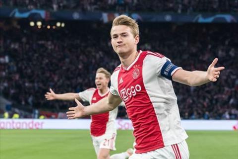 Van Gaal khuyên De Ligt từ chối MU, gia nhập Man City hình ảnh
