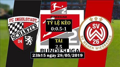 Ingolstadt vs Wehen 23h15 ngày 285 (Playoff hạng 2 Đức) hình ảnh