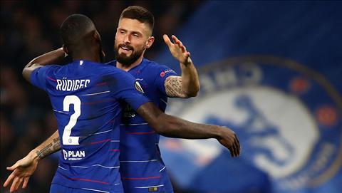 Video Chelsea vs Dynamo ảnh gif bàn thắng vòng 18 Europa League hình ảnh