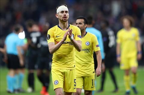 Cesar Azpilicueta ca ngợi Jorginho sau trận hòa 1-1 của Chelsea  hình ảnh