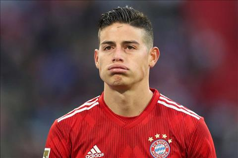 James Rodriguez roi Bayern