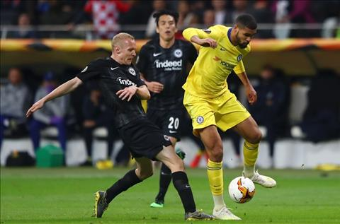 Chelsea vs Frankfurty Ruben Loftus-Cheek