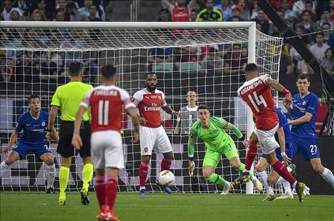 Chelsea vs Arsenal Auba dut diem