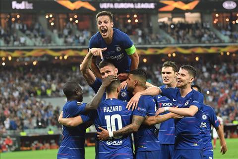 Chelsea vs Arsenal 4 1 anh gif ban thang europa league hình ảnh